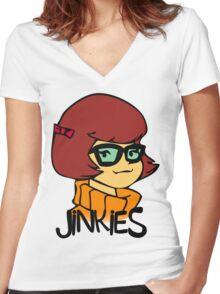 Velma Women's Fitted V-Neck T-Shirt