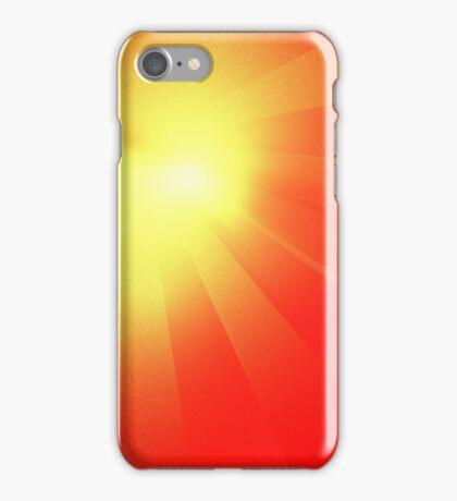 Comet Rays iPhone Case/Skin