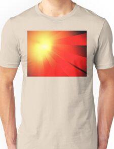 Comet Rays Unisex T-Shirt