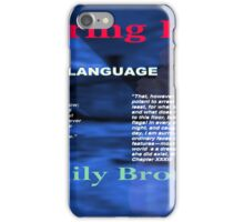Wuthering Heights Figurative Language iPhone Case/Skin