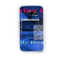 Wuthering Heights Figurative Language Samsung Galaxy Case/Skin