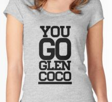 YOU GO GLEN COCO Women's Fitted Scoop T-Shirt