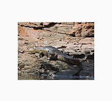 Crocodile, Ord River, Kimberley, Western Australia Unisex T-Shirt