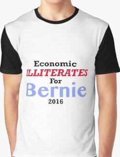 Anti Bernie Sanders Sticker Graphic T-Shirt