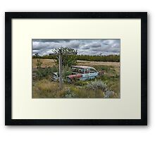 At the foot of the cross Framed Print