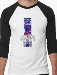 Don't Go It Alone - with text Men's Baseball ¾ T-Shirt