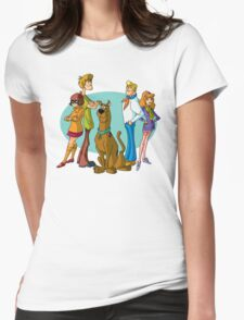 Scooby Gang Womens Fitted T-Shirt