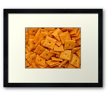 Cheez Its Framed Print