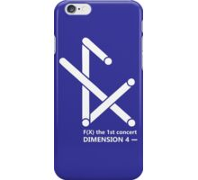 F(X) Dimension 4 1st concert iPhone Case/Skin