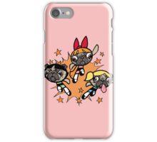 Power Pug Girls iPhone Case/Skin
