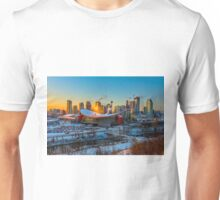 Calgary in the Cold Unisex T-Shirt