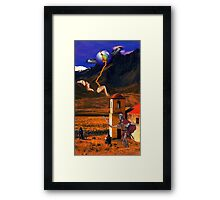 (i got nuffin.. you name it) Framed Print