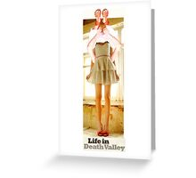 (Life in Death Valley) Greeting Card