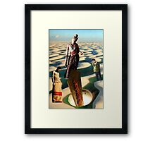 The Reverence of Ghosts Framed Print