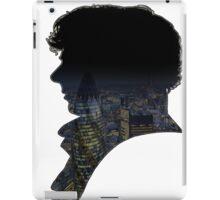 Sherlock watches over London. iPad Case/Skin