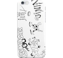 bts|bangtan :: CARTOON DOODLES iPhone Case/Skin