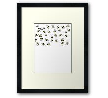 Buzz Off Bees Framed Print