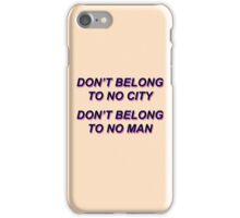 HURRICANE / HALSEY iPhone Case/Skin