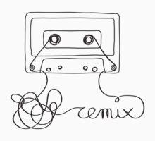Remix - old cassette tape remixed by Sundara Design