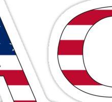 Alpha Phi - USA Sticker