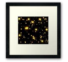 Firefly Glow Framed Print