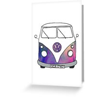 volkswagen bus Greeting Card