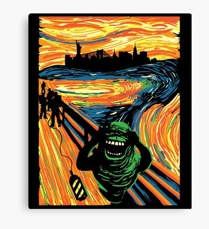 Slimers Scream Canvas Print