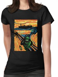 Slimers Scream Womens Fitted T-Shirt