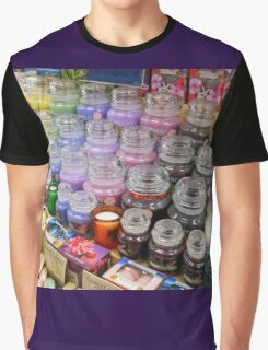 Aromatherapy Unchained - Yankee Candles Shop Display Graphic T-Shirt