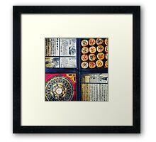 Chess and Compass Framed Print
