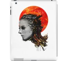 just a ghost in the shell iPad Case/Skin