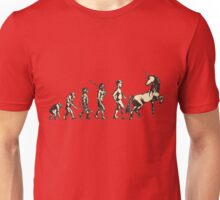 The evolution is FABULOUS Unisex T-Shirt