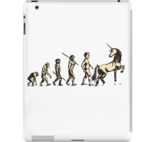 The evolution is FABULOUS iPad Case/Skin