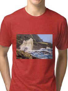 Explosive Wave! Tri-blend T-Shirt