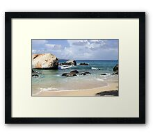 The Tropic's Rock Framed Print