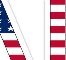 Delta Gamma - USA Sticker