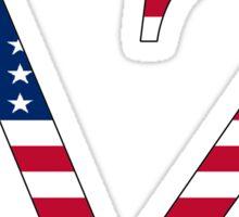 Delta Zeta - USA Sticker