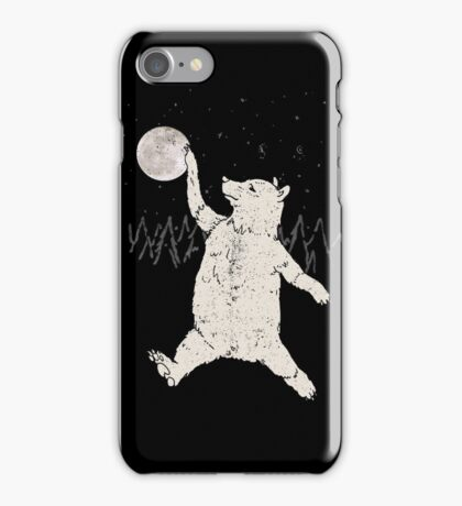 Bear Jordan iPhone Case/Skin