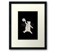 Bear Jordan Framed Print