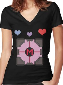 It's Sentient! Women's Fitted V-Neck T-Shirt