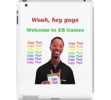 EB Games Copy That Shirt iPad Case/Skin