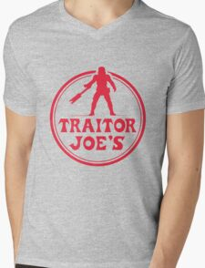 Traitor Joe's Mens V-Neck T-Shirt