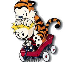 Calvin And Hobbes Good Times by dodolkojek