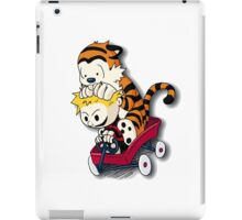 Calvin And Hobbes Good Times iPad Case/Skin