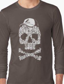 Pokemon Skull Pattern Long Sleeve T-Shirt