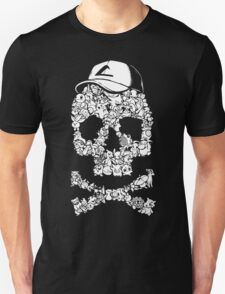 Pokemon Skull Pattern T-Shirt