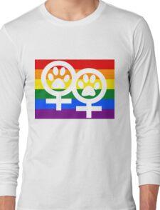 Lesbian kitty Long Sleeve T-Shirt