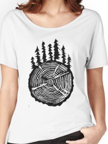 the wisdom is in the trees Women's Relaxed Fit T-Shirt