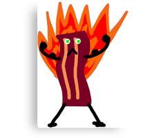 Bacon Man! Canvas Print