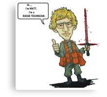 MATT The Radar Technician - Adam Driver SNL Star Wars Canvas Print